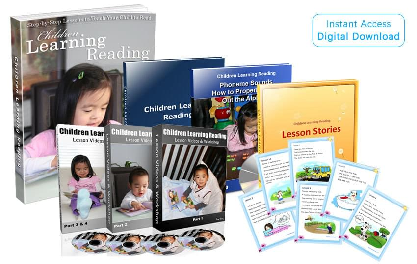 Children Learning Reading Program Contents