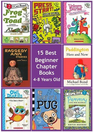 15 Best Chapter Books 4-8 Year olds