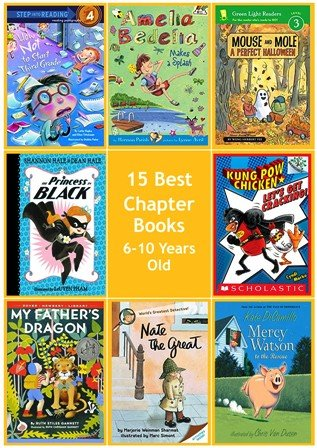 15 Best Chapter Books 6-10 Year olds