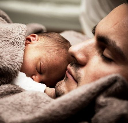 Baby Co-Sleeping with Dad