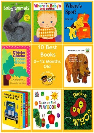 10 Best Books 0 to 12 Months