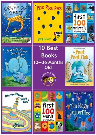 10 Best Books 12 to 36 Months Old
