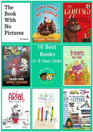 10 Best Books 3 to 5 Year-Olds
