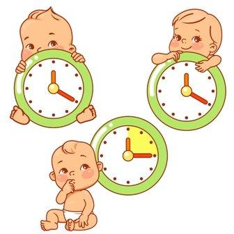 Sleep Schedule Clocks
