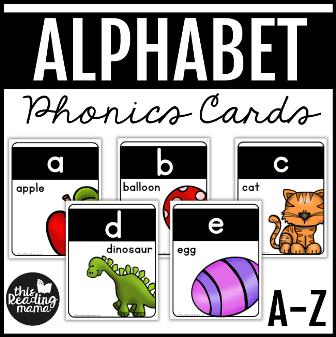 Alphabet Phonics Cards