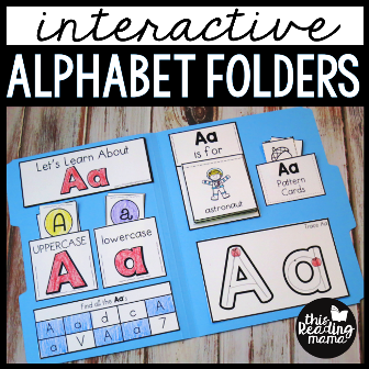 Alphabet Folders