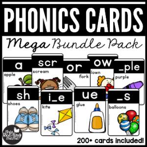 Phonics Cards Mega Bundle Pack