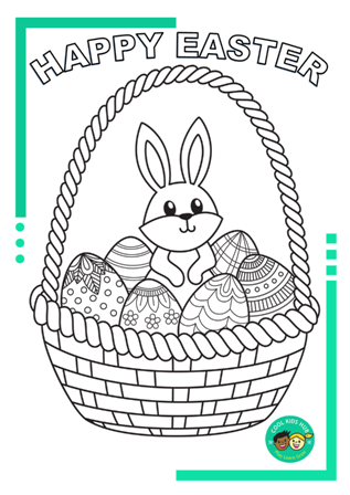 Easter Colouring-In