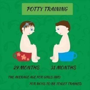 Potty Training Tip Average Age