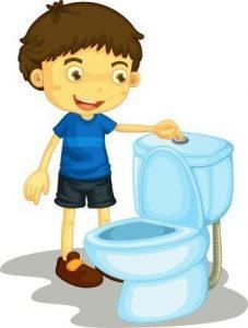 Potty Training Tips - Flushing