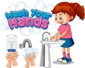 Potty Training Tip Wash Hands